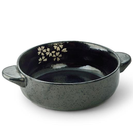 供应 三分烧日韩式米饭碗创意个性手绘陶瓷双耳碗酒店会所面碗餐厅汤碗