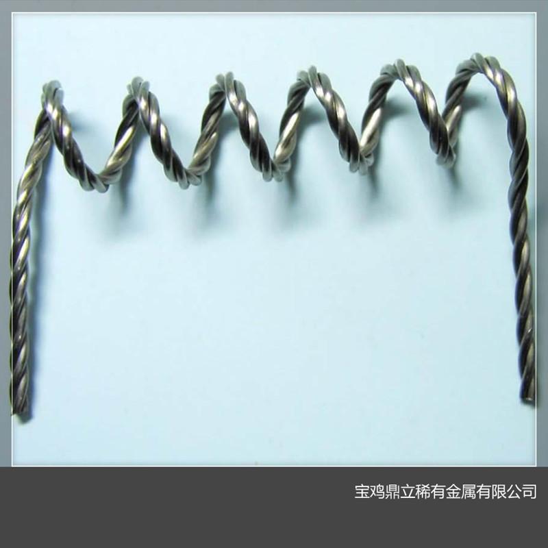 钨绞丝 钨丝漏斗 三股钨丝 镀膜钨丝 电子枪灯丝