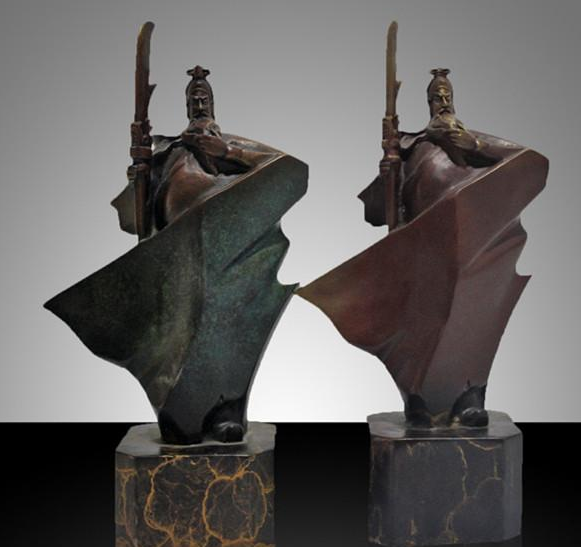 中国铜雕产业网:铜雕是用铜来讲述一个城市的文化