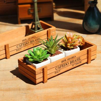 供应 桌面木质收纳盒