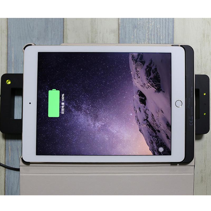 广州ipad pro皮套带支架无线充电仿皮纯色创意平板保护壳厂家定做