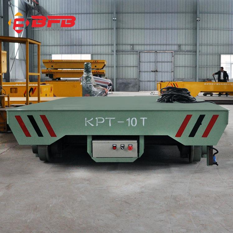 电缆线供电10吨轨道车