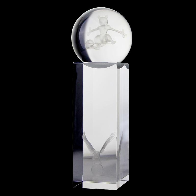 水晶奖杯 专业定制 可刻字 优质水晶礼品 纪念友谊 水晶工艺品