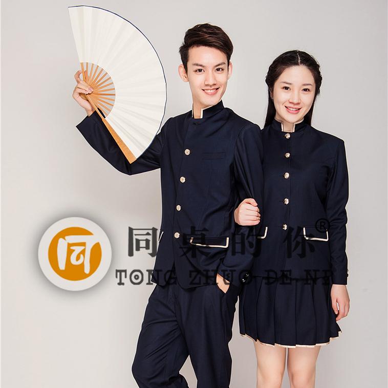 中学生春秋新款正装QZ022z大学生西装校服