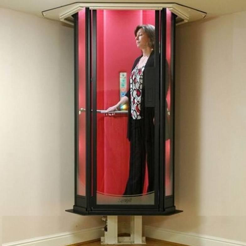 家用电梯厂家专业小型家用电梯定制小型别墅电梯设计别墅家用液压升降机平台电梯