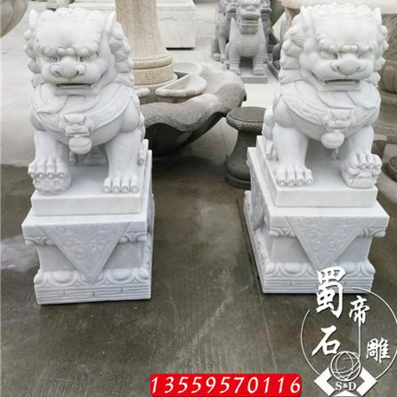 石雕狮子 镇宅神兽 青石狮子 福建厂家专业加工