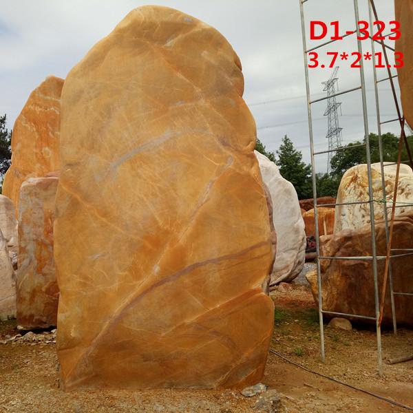 黄蜡石厂家 批发刻字黄蜡石规格1-9米