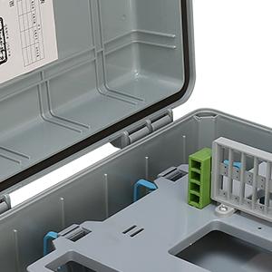 宁波恒贝厂家直销24芯分光分纤箱