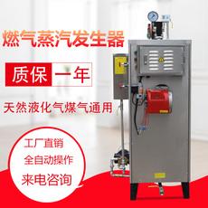 旭恩70KG蒸汽发生器全自动立式智能小型天然气锅炉不锈钢蒸汽机