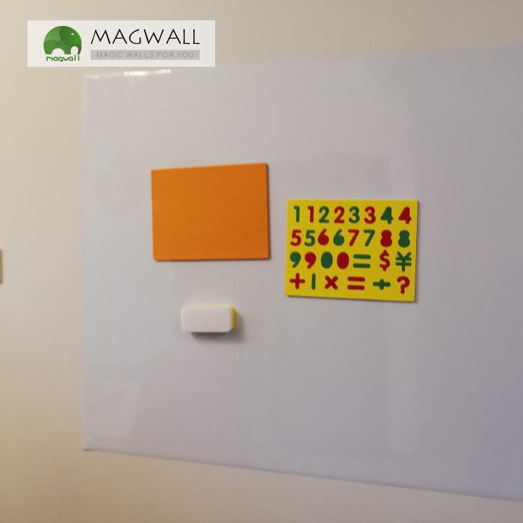 销售magwall居家装饰无味可擦写磁性白板墙贴