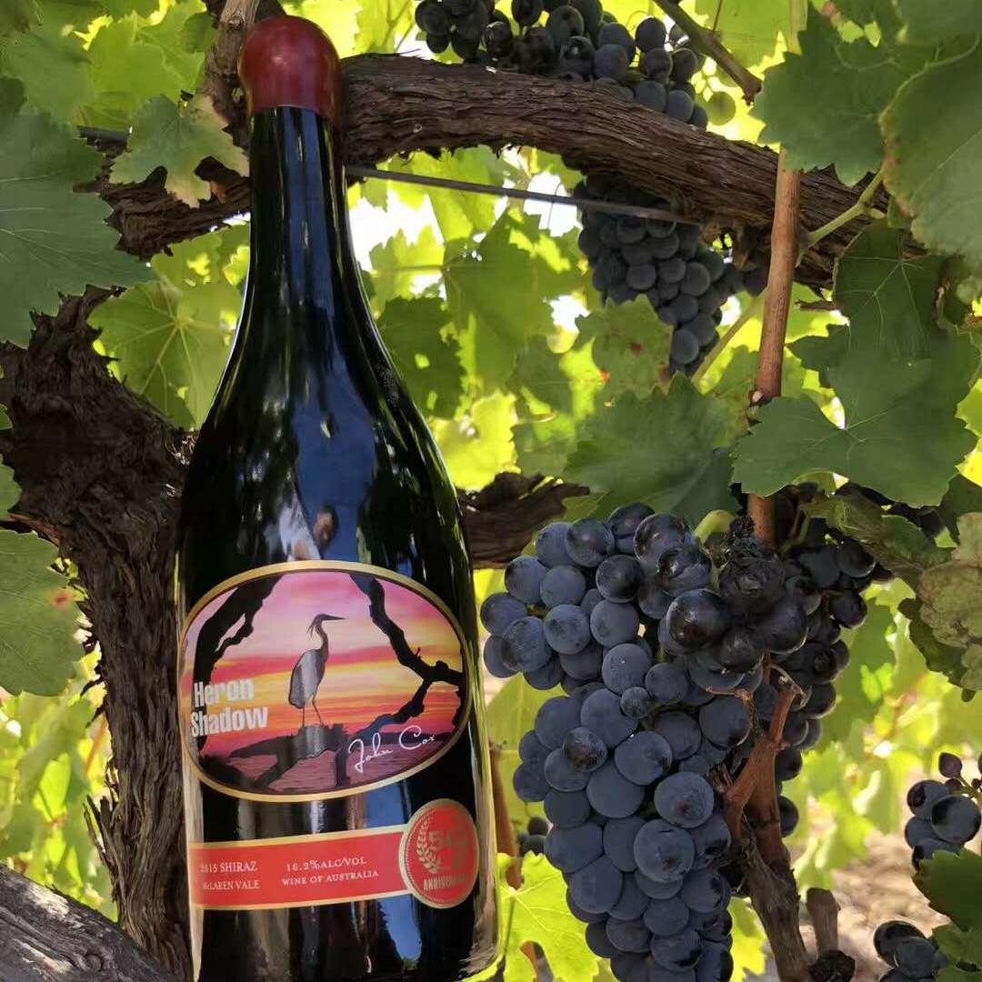 澳大利亚进口葡萄酒定制代理鹭影系列 珍藏西拉干红葡萄酒750ml