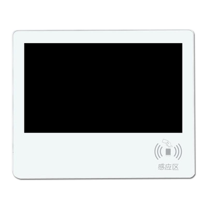 21.5寸超薄电子班牌壁挂安卓一体机电容触摸人脸识别指纹刷卡签到机