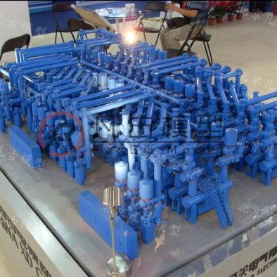 包头重工业装备模型 机械动态模型 模型工厂