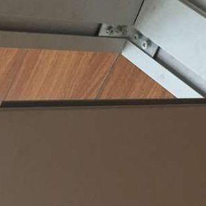 呼和浩特卡布型材铝合金边条广告牌铝型材