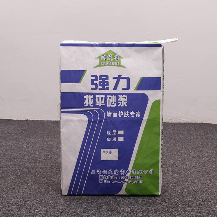 普通印刷粘结剂包装袋25kg 双面胶印编织袋覆膜材质