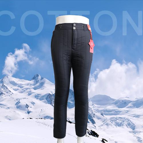 冬日西北驼 工艺裤 加厚护膝保暖裤 中老年外穿棉裤