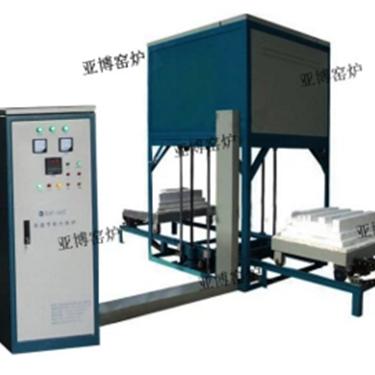 1700度电动升降炉生产厂家全自动升降炉价格