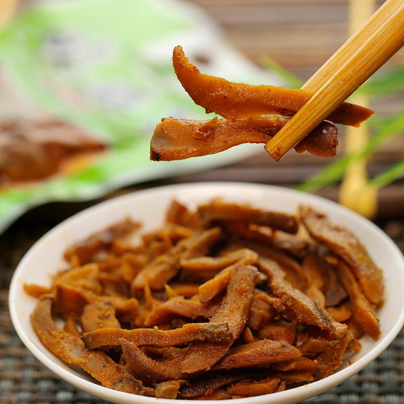 森林家晓菇菜香菇榨菜丝辣条下饭菜咸菜腌制酱菜香辣泡菜散装16袋