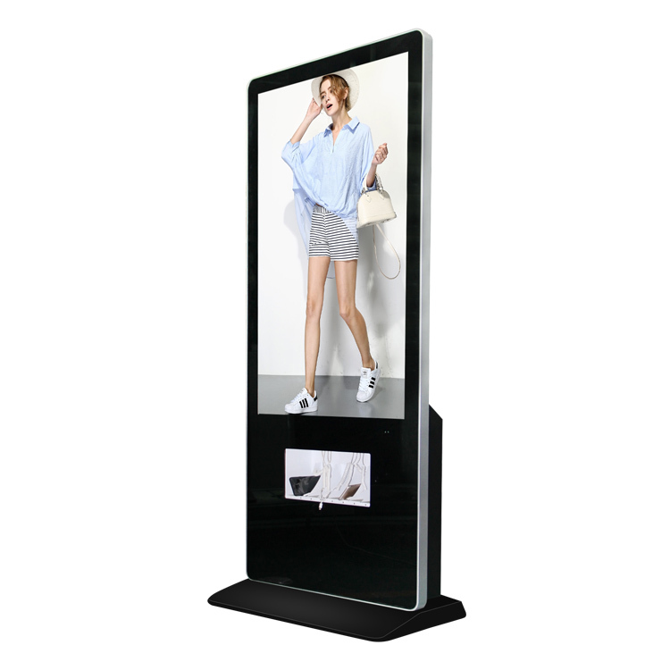鑫飞55寸多功能手机充电站加油站立式广告公共场所智能快速充电站充电桩