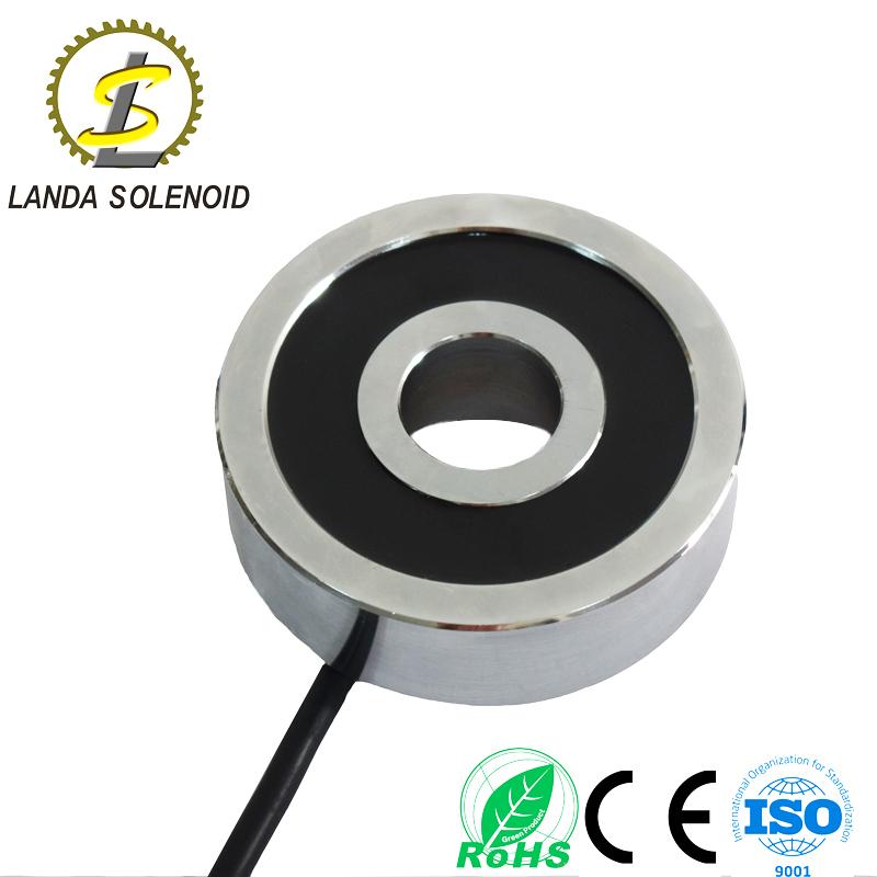 定制圆形电磁铁直径100mm高30mm 24V直流电源