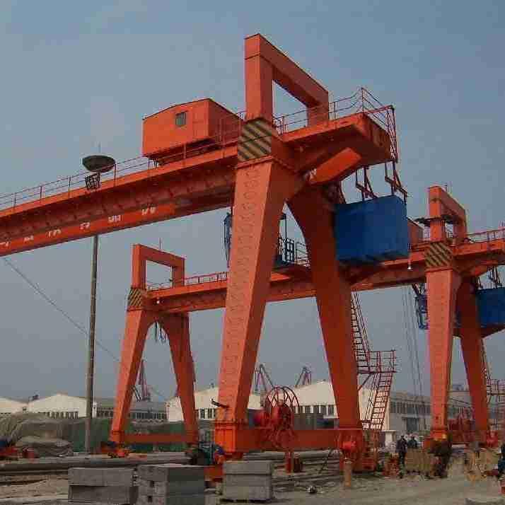 出售10吨 20吨室内双梁起重机 跨度不限二手道轨天吊龙门吊