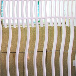围墙护栏锌钢定制欧式庭院围栏花园白色栅栏