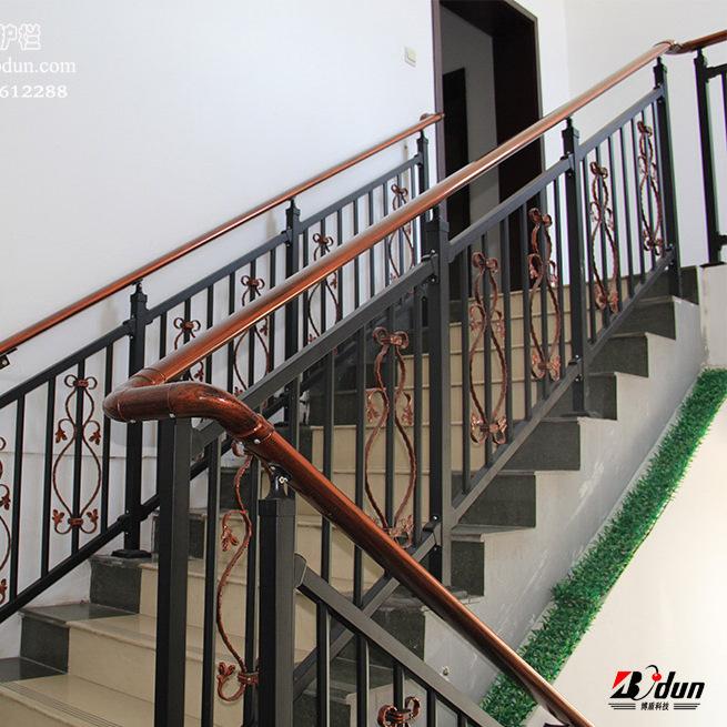 锌钢楼梯扶手别墅小区室外家庭楼梯护栏