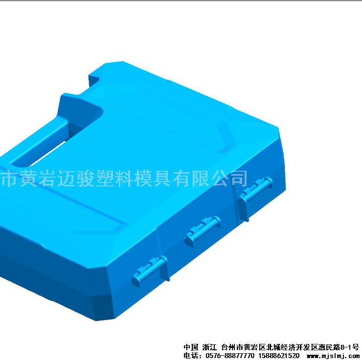 塑料工具箱模具定制工厂 台州黄岩模具厂专业制造 价格实惠