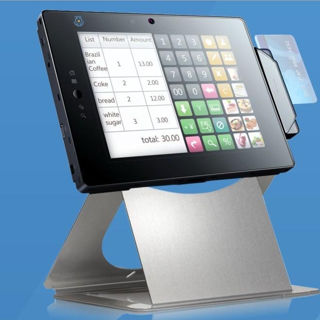 智能平板IC卡消费终端智能自助购物机