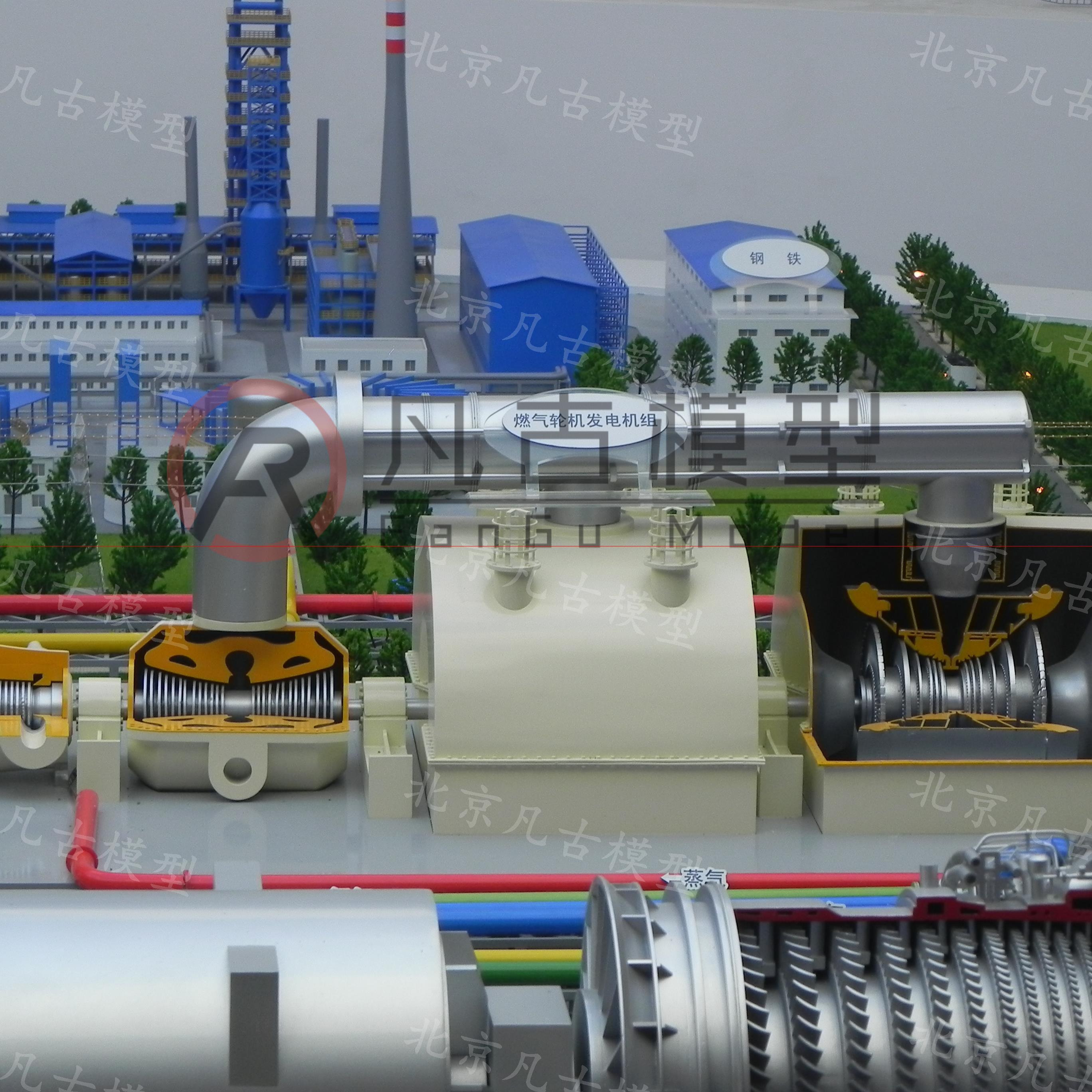 北京凡古模型制作_高端精品工业模型_电力模型