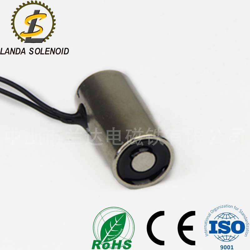 厂家供应常用小型吸盘式电磁铁H1632