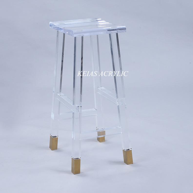 佛山厂家直销KTV高端亚克力椅子 有机玻璃PMMA水晶椅 可加工定制