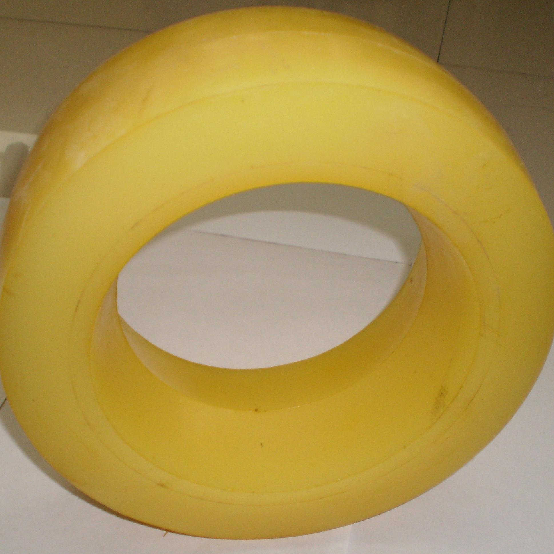 罐笼滚轮罐耳--聚氨酯罐耳--缓冲导向轮罐耳
