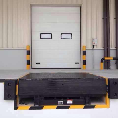 宏福门业供应固定式登车桥 装卸货平台