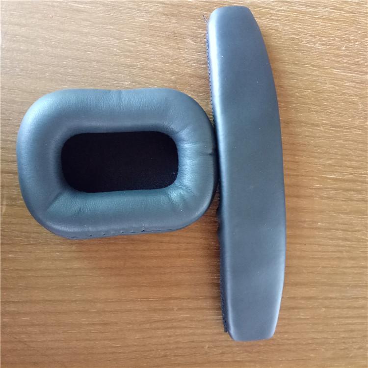 订做头戴式耳机海绵套 热压PU皮耳套耳垫厂家直销