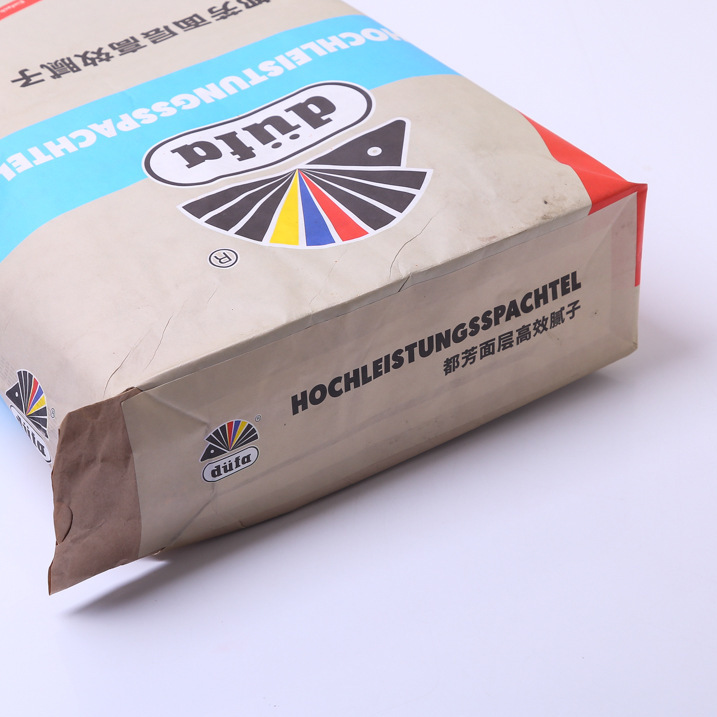 定制创意白色牛皮纸 环保多层纸阀口袋 矿产化工原料阀口袋