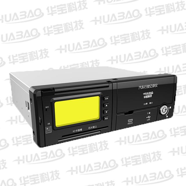 部标车载硬盘录像机丨 4G 丨WIFI 丨北斗GPS丨 多路监控