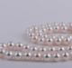 南珠世家 8.0-8.5mm白色北海天然珍珠项链 简约经典串珠珍珠项链