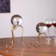 供应 欧式水晶球摆件 创意时尚居家装饰品 客厅装饰金属工艺品