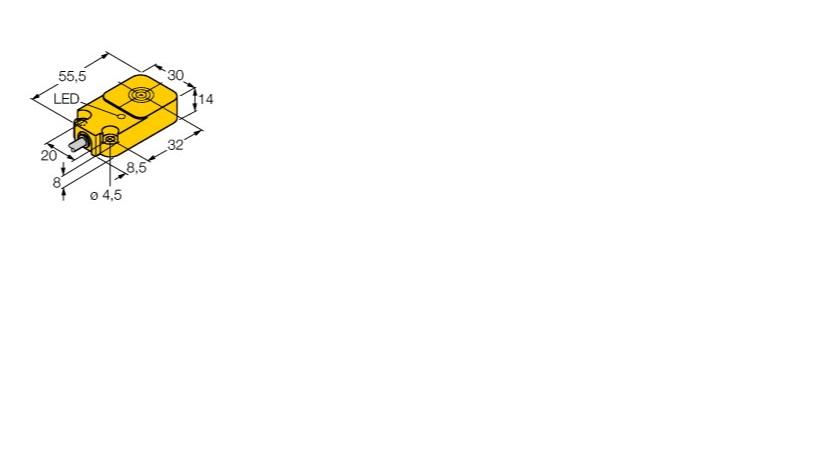 图尔克传感器型号BI10-Q14-Y1X价格德国原装进口TURCK光电传感器