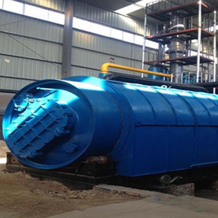四海能源LJ-10最新款废塑料环保裂解炼油设备