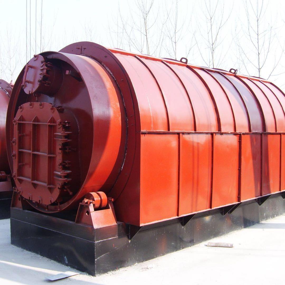 商丘四海供应废塑料废橡胶裂解燃料油环保设备