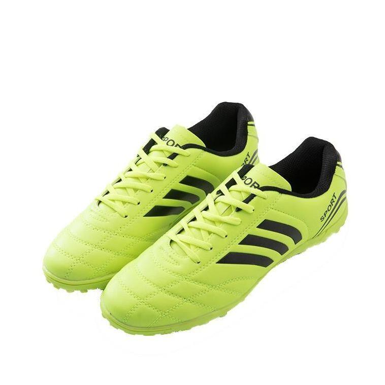 訓練球男女成人男女足球鞋學生男童碎釘訓練鞋皮足人造草地柔軟