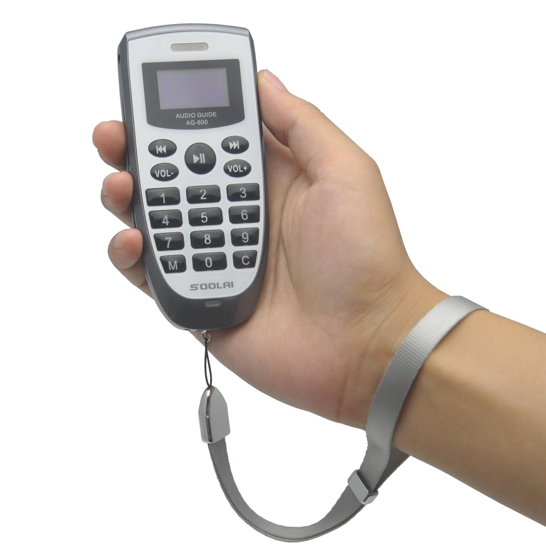 供应索莱无线智能导游机