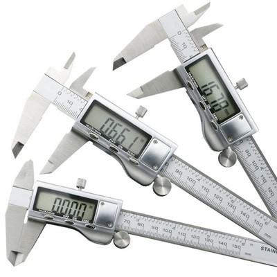 供应 金属壳数显卡尺0-150 电子卡尺0-200MM金属表头游标卡尺量