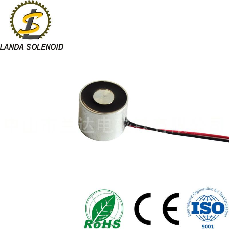 兰达电磁铁 直流吸盘式电磁铁 圆形H2520