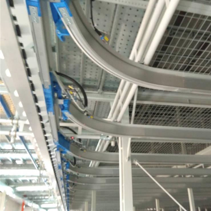 智能工厂服装行业--成衣入库到动态挂装仓储吊挂输送系统