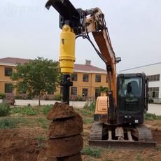 重庆地区钻孔灌注桩钻机挖掘机式挖坑机BZ6000螺旋钻