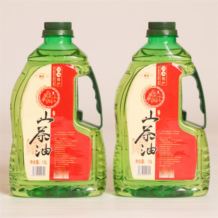 福伦有机山茶油3L礼盒装 低温初榨茶籽油 月子食用油