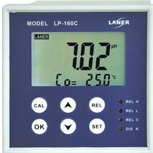 厂家直销 抗干扰LP-160C工业在线PH计 酸度PH计 在线污水PH检测仪 泽钜